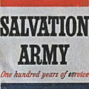 1965 Salvation Army Stamp Art Print