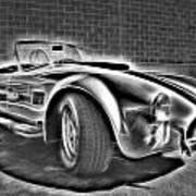 1965 Shelby Cobra - 3 Art Print