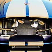 1965 Shelby Cobra Grille Art Print by Jill Reger