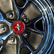 1965 Shelby Prototype Ford Mustang Wheel Art Print