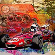 1966 9 Eagle Indy Art Print