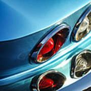 1966 Chevrolet Corvette Taillight -120c Art Print