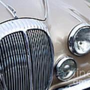 1966 Daimler Mk2 Saloon Art Print