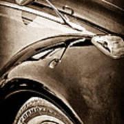 1966 Volkswagen Vw Art Print