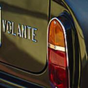 1967 Aston Martin Db6 Volante Tail Light Art Print