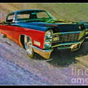 1967 Cadillac Coupe Art Print