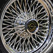 1967 Ford Thunderbird Wire Wheel Art Print