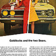 1967 Plymouth Gtx - Goldilocks And The Two Bears. Art Print