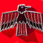 1967 Pontiac Firebird Emblem Art Print