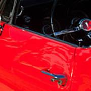 1967 Pontiac Firebird Steering Wheel Emblem Art Print