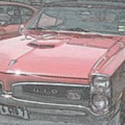 1967 Pontiac Gto Art Print