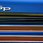 1967 Pontiac Hurst Grand Prix Convertible Taillight Emblem -3584c Art Print