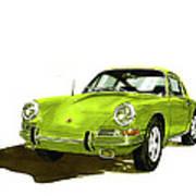 1967 Porsche 911  Art Print