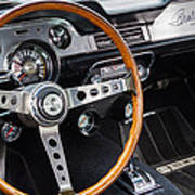 1967 Shelby Gt 350 Signed Dash Art Print