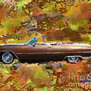 1968 Cadillac Deville Art Print