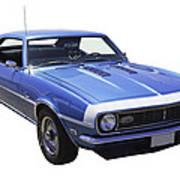 1968 Chevrolet Camaro 327 Muscle Car Art Print