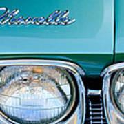 1968 Chevrolet Chevelle Headlight Art Print