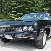 1968 Chevrolet Impala Sedan Print by John Telfer