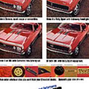 1968 Chevy Camaro Art Print