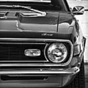 1968 Chevy Camaro Ss 350 Art Print