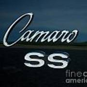 1968 Chevy Camaro Ss Logo Art Print