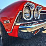 1968 Chevy Chevelle Ss 396 Art Print