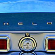 1968 Ford Shelby Gt500 Kr Convertible Rear Emblems Art Print