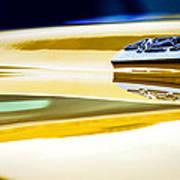 1969 Chevrolet Camaro 427 Hood Emblem - 0879c Art Print