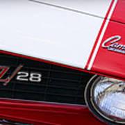 1969 Chevrolet Camaro Z28 Art Print