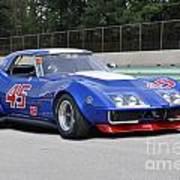 1969 Chevrolet Corvette Race Car Art Print