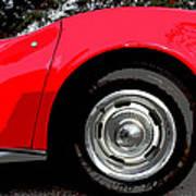 1969 Chevrolet Corvette Stingray - Vi Art Print