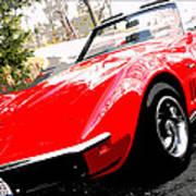 1969 Chevrolet Corvette Stingray - X Art Print