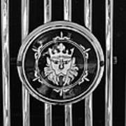 1969 Morgan Roadster Grille Emblem 3 Art Print by Jill Reger