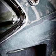 1969 Mustang Mach 1 Emblem Art Print