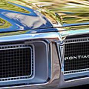 1969 Pontiac Firebird 400 Grille Art Print