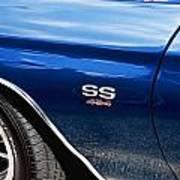 1970 Chevy Chevelle 454 Ss  Art Print