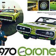1970 Dodge Coronet R/t Art Print