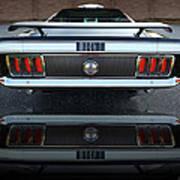 1970 Ford Mustang Mach 1 Art Print