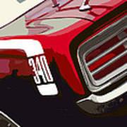 1970 Plymouth Barracuda 'cuda 340 Art Print
