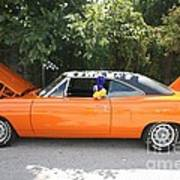 1970 Plymouth Dodge Superbird Art Print