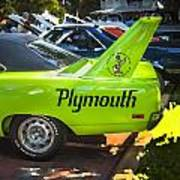1970 Plymouth Road Runner Hemi Super Bird  Art Print