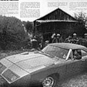 1970 Plymouth Superbird - Announcing A New Kind Of Runner Art Print