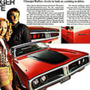 1971 Dodge Charger Rallye Art Print
