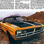 1971 Dodge Demon 340 Art Print