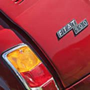 1971 Fiat 500 Jolly Taillight Art Print