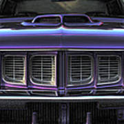 1971 Plymouth 'cuda 440 Print by Gordon Dean II