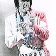 1971 Turquoise Concho Suit Art Print