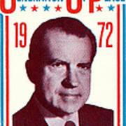1972 Nixon Presidential Campaign Art Print