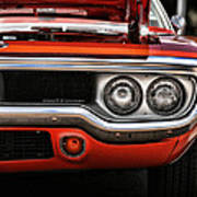 1972 Plymouth Road Runner Art Print