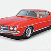 1972 Pontiac Lemans Art Print